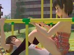 3D Teen Playground Fuck