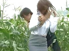 Innocent Woman abducted in a corn field