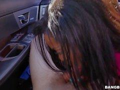 Ebony Teen Deana Dulce Fucked In Car
