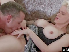 Hot Mila gets her wet cunt pounded