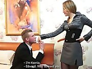 This cute blonde teeny has just registered on a courtesan