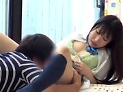 Sex brunette french Japanese Big Cock