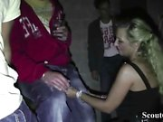 German MILF and Teen Fuck Guys after Party in Berlin