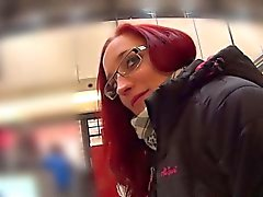 MallCuties - Amateur redhead girl sucking and fucking