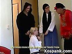 Kinky Spanking Teen Hardcore Makeout