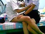 Thai student in uniform