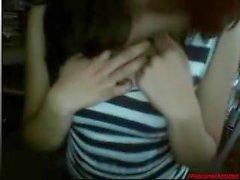 #0384 - Skype girl having fun