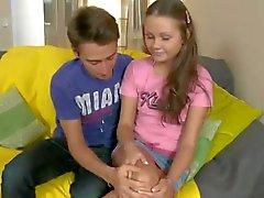 Teen Russian taking revenge on her man by fucking hard