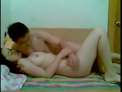 Young Couple Homemade - itube69