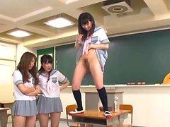 Ikoma Haruna Miyazaki Aya And Palls Do Femdom Pissing