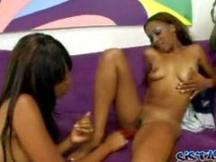 Ebony Lesbian Fun