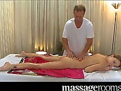 Young pussy massaged and fucked
