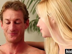 Sweet pussy fucking with Samantha Rone