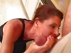 Guy seduced by older widow - Rayra