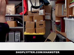 ShopLyfter - Corporate Slut Detained and Fucked