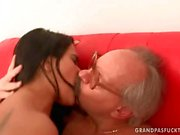 Grandpas and Young Girls Hot Love Compilation