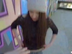 Rebecca Volpetti Italian Cutie Rides Dick At School