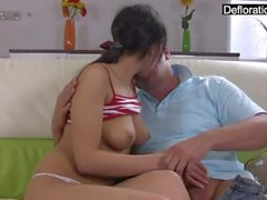 Young Russian teen wants to get her cherry popped