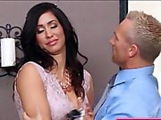 Stepmom Isis Love caught Ariana Marie fucking and wants in