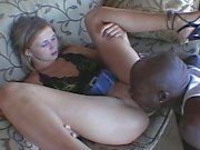 Innocent teen babe fucked hard by huge black cock !