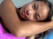 Filipino girl in the shower