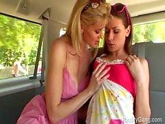 Lesbian milf hunts down Victoria Lawson