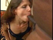 Sexy slim figure petite girl gets drilled hard anal by one black cock