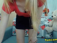 russian teen blonde homemade