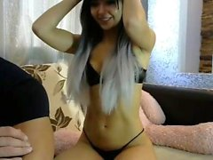 Amateur Teen Blowjob On Adult Webcam Show