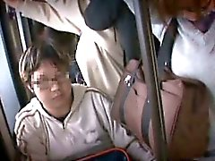 Two shy Teen Sisters molested in a train