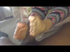 Jelenda Age 60 First Footjob Mature (Old vs Young)