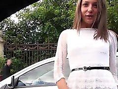 Teen gets wet going fast in stranger's car