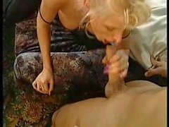 Hot milf and her younger lover 916