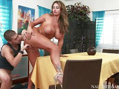 Step mom Eva Notty gives perfect blowjob
