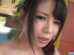 Perfect Japanese porn scenes with young Miyu Shiina