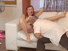 DADDY4K. Cutie receives good punishment from boyfriend and..