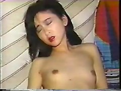 Blowjob amateur asian tasting jizz
