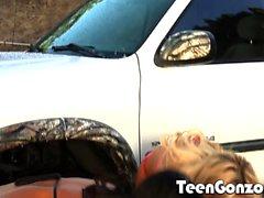 TEENGONZO Two tanned teens getting freak nasty