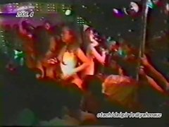 japanese sexy girls strip and naked dance on the stage