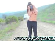Girls porn teen ftvgirls Ruby hair public sexy petite free v