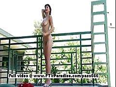 Laela tender playful gorgeous brunette
