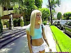 Handling a cock in the car