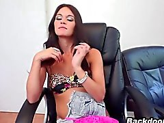 Fresh model tries anal sex for first time