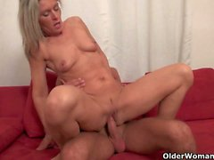 Horny matures get banged hard and creamed