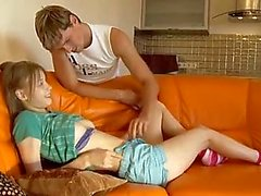 Teen likes the big boyfriend cock