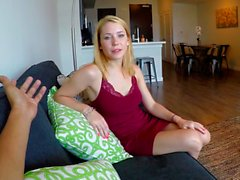 Horny small-town slut