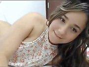 Novinha de 18 anos nua na webcam caiu na net