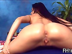 Teen massaged and fucked like never before