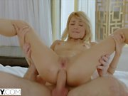 TUSHY Blonde Teen Gets Anal Dominated By Her Master