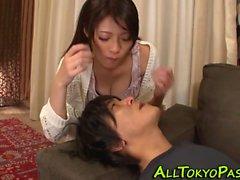 Japanese teen sucks